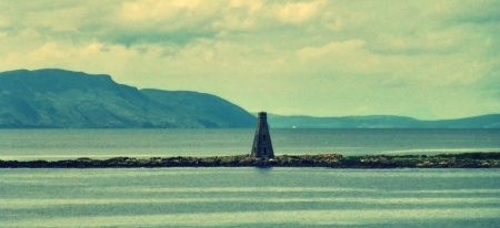Although, the old lighthouse is pretty pretty too.