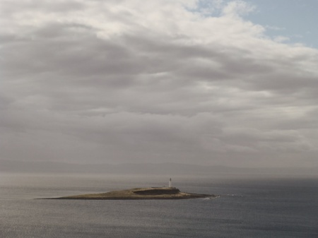 A lonely lighthouse