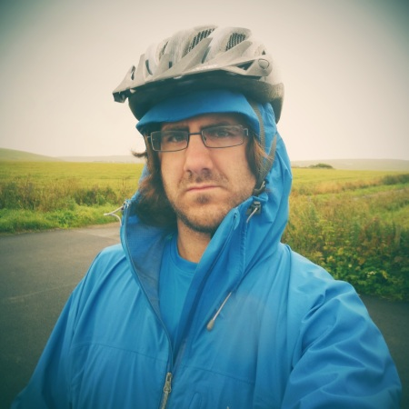 "A damp and miserable self-portrait. Definitely not a ""selfie"" though. Stupid word."