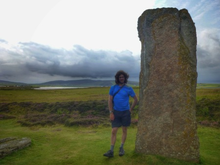 I can't think of interesting captions for these pictures. Anybody know any good standing stone puns?