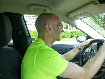Paul is getting in to the Floridian way of things with an incredibly bright t-shirt.